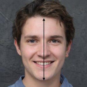 longueur du visage