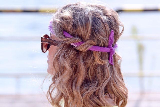 headband style hippie